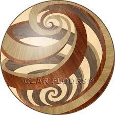 wood floor inlays. Picture Of Vortex In Wood Medallions Floor Inlays B