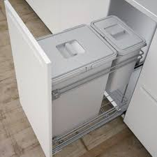 IT Kitchens 300mm Integrated Pull-Out Kitchen Bins, 30L | Departments | DIY  at B&Q