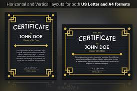 Certificate Template Photoshop Take A Look At The Most Popular Gift Certificate Templates