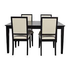 72 Off Harlem Furniture Harlem Furniture Black Dining Table With