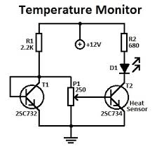 basic circuit diagrams the wiring diagram simple temperature monitor circuit circuit diagram