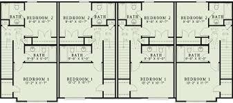 Attractive Four Plex   ND   nd Floor Master Suite  CAD    Reverse Floor Plan Pinit white
