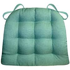 Amazon Now Designs Spectrum Chair Pad Turquoise Home & Kitchen