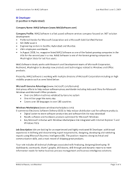 Microsoft Job Description Jd For Msbi Openings