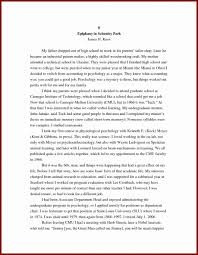 Outline For Autobiography Personal Sample Bibliography