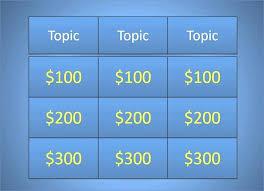 Jeopardy Powerpoint Template Amazing Blank Jeopardy Powerpoint Template With Music Voipersracingco