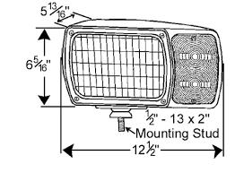 4 by grote snowplow lamp kit universal wiring harness pair 63451 4 by grote snowplow lamp kit universal wiring harness pair pack