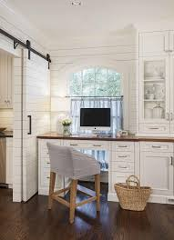 office in kitchen. advanced renovation projects - traditional home office charlotte jim schmid photography in kitchen