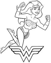 Superman x wonder woman coloring pages | dc couple coloring pagesif you like this video please subscribe to this channel for new videos upload everyday. Printable Wonder Woman Coloring Page Topcoloringpages Net