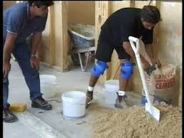 how to tile grout part 2 screeding a floor the best way to level a floor with sand and cement