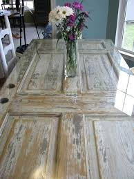 how to make a dining table from an old door lest i forget the door table