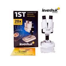 <b>Микроскоп Levenhuk 1ST</b> купить в Москве, СПб, РФ с доставкой