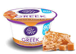 Dannon Light And Fit Greek Review Caramel Apple Pie Greek Yogurt Light Fit