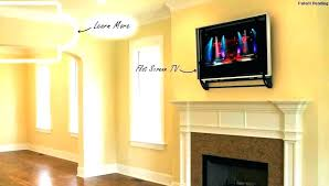 how to hide cords on wall mounted tv above fireplace hide cords on wall