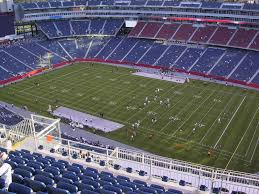 Gillette Stadium View From Upper Level 305 Vivid Seats
