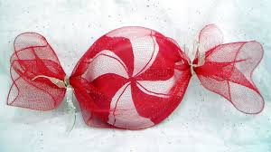 Candy Decorations Diy Peppermint Candy Decorations And Party Favor Gift Wrap Youtube