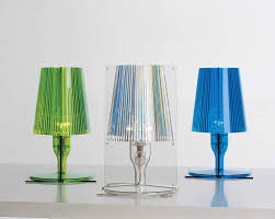 Kartell Polycarbonate Take Table Lamp 185 X 175 Cm Transparent