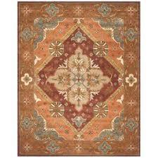 area rug orange rugs for n