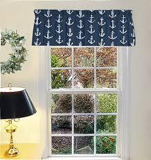 Beach Cottage Curtains Decor Beach House Window Treatments | Etsy