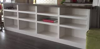 bookcases marvellous design half wall bookshelf elephant buffet if you build it they will use before