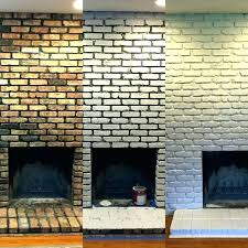 cleaning fireplace brick bricks soot with baking soda for painting