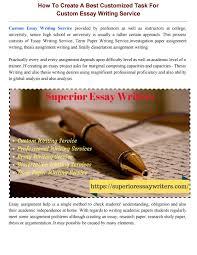 formats for essay jobs