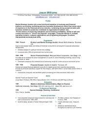 Sample Resume Format Musiccityspiritsandcocktail Com