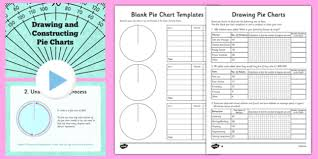 Creating Pie Charts Worksheet Ks2 How To Draw Pie Charts Resource Pack Primary Resources