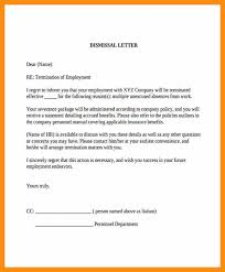 termination letter template 12 letter of termination sample abstract sample