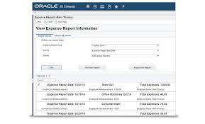 Jd Edwards Enterpriseone Expense Management Oracle