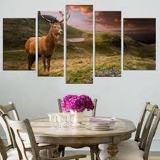 wall art red deer