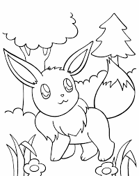 Small Picture Spirit Coloring Pages Eevee Evolutions Coloring Coloring Pages