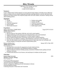 Examples Of Resumes 89 Amusing Best Resume Sample Samples