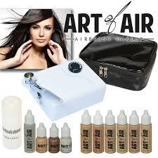 art of air cosmetic airbrush makeup kit review