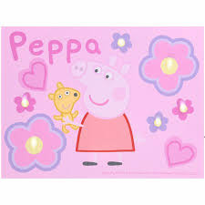 peppa pig led canvas wall art on pig canvas wall art with peppa pig led canvas wall art walmart