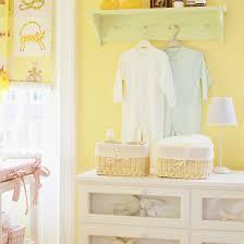 nursery with white furniture. yellow nursery with white furniture
