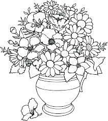 Small Picture Flower Page Printable Coloring Sheets Flower Coloring Pages Free