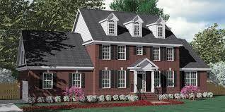 Image result for brick colonial williamsburg with third floor dormers