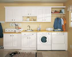 Interior:Laundry Room Design Idea With Mdf Wall Cabinets And Ironing Board  Appealing Laundry Room