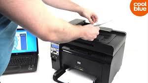 Hp Laserjet Pro 100 Color Mfp M175nw Review En Unboxing Nl Be