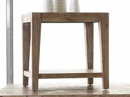 Edgy furniture Living Room Casana Tyler Weathered Acacia 24 Square End Table Kalvezcom Southwest Style Furniture And Edgy Decor