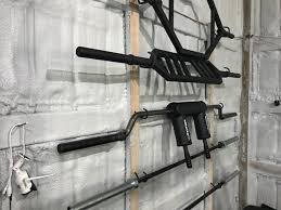 diy barbell storage