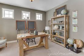 Rustic Office Design Vintage Office Decorating Ideas