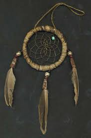 Original Dream Catchers American Indian dreamcatchers made of deerskin leather 2