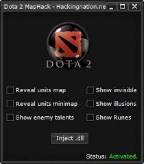 dota 2 maphack reveal units on minimap bytehow