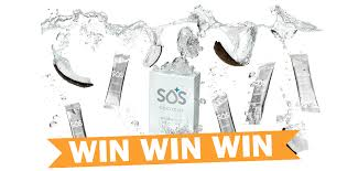 get more from your water win sos rehydrate sachets