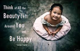 EQ Best Quote By Anne Frank Think Of All The Beauty Still Left Aroun Adorable Anne Frank Quotes