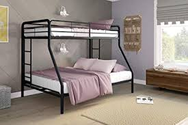 Image Full Bunk Image Unavailable Amazoncom Amazoncom Dhp Twinoverfull Bunk Bed With Metal Frame And Ladder