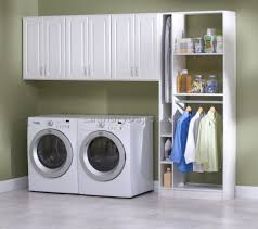 Laundry Hanging Bar Collection Of Wall Cabinets For Laundry Room All Can Download