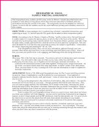 example of biography in essay jethwear essay biography examples example of personal statement for